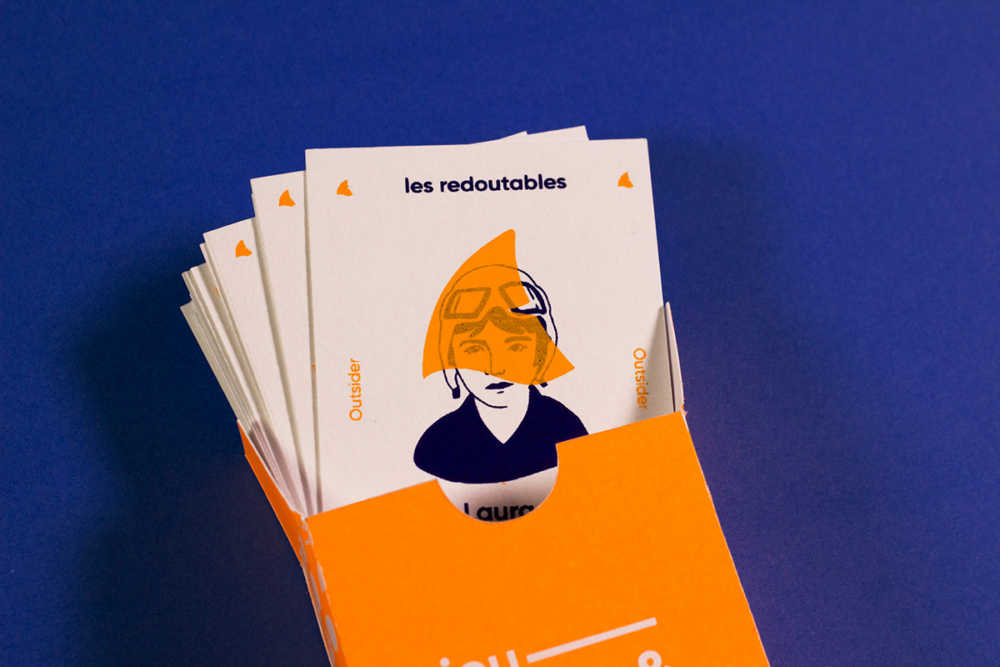 Women in visual communication cards game