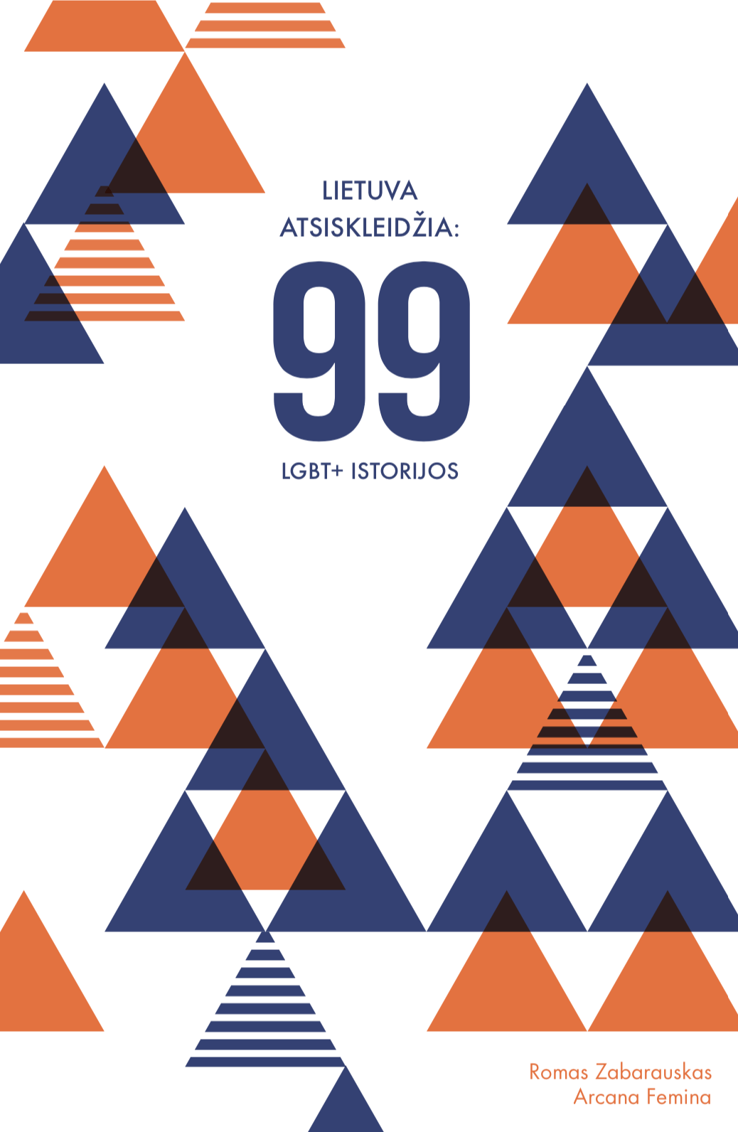 Cover of the book 99 LGBT stories, Lithuania