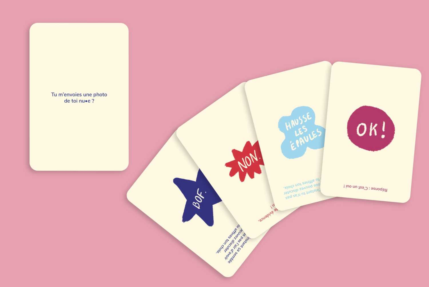 Card games about sexual education